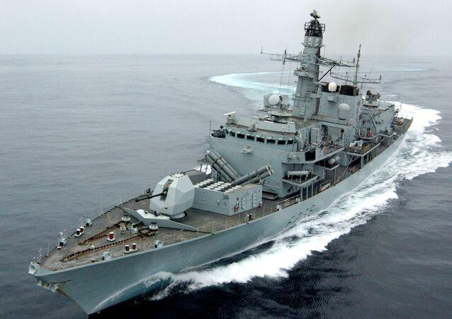 Fregata Brytyjskiej Floty Królewskiej HMS Montrose