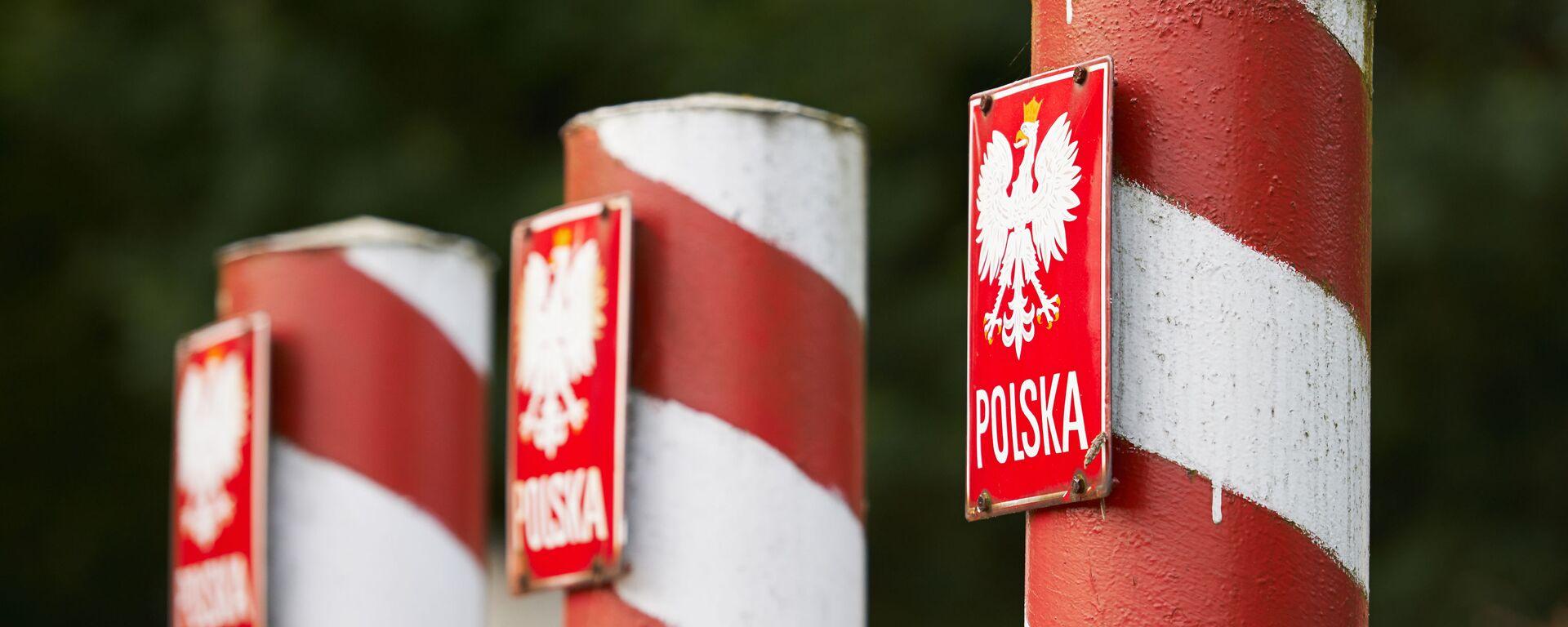Polskie słupy graniczne - Sputnik Polska, 1920, 13.04.2021