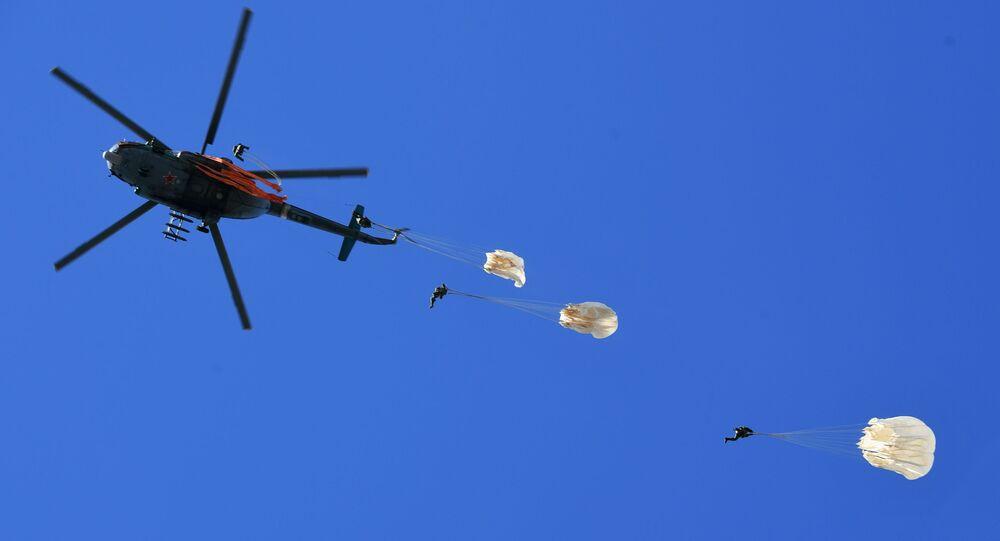 Rosyjscy spadochroniarze