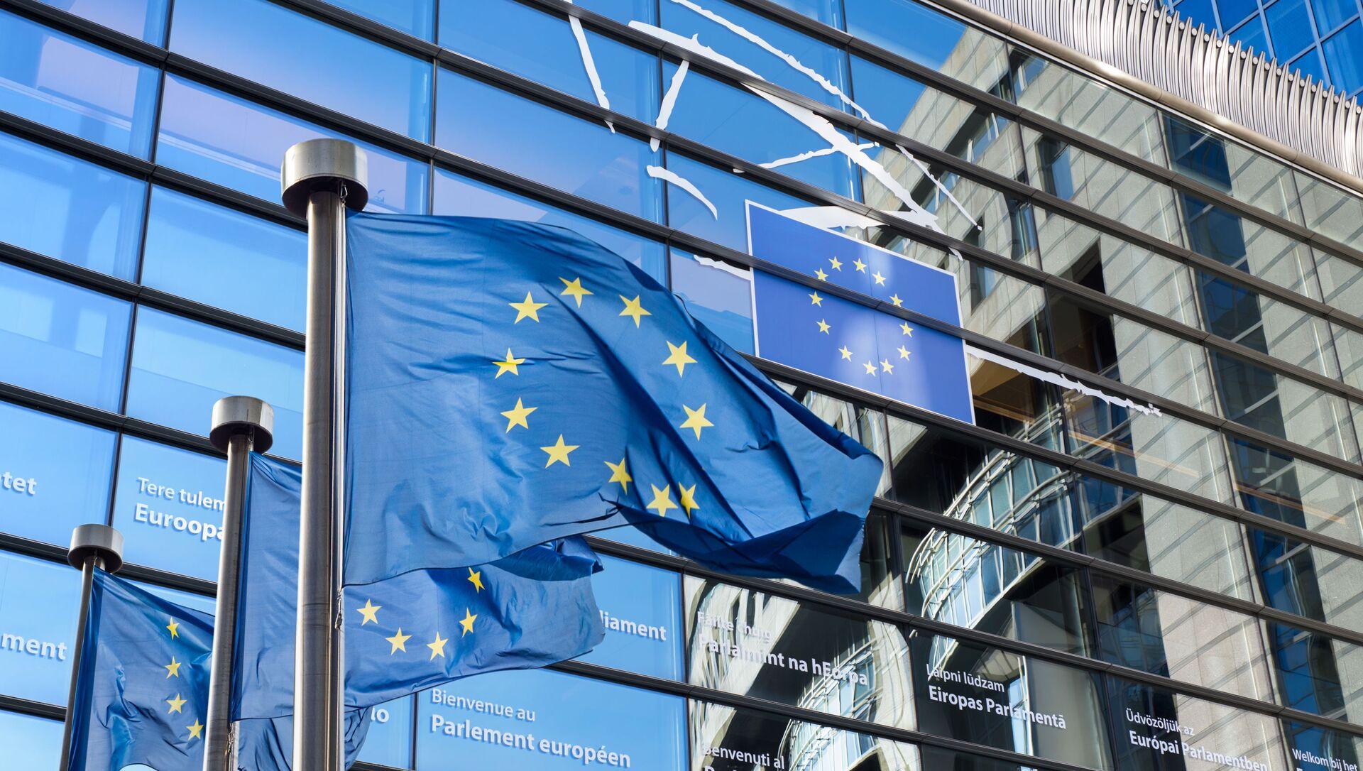 Siedziba Parlamentu Europejskiego w Brukseli - Sputnik Polska, 1920, 04.05.2021