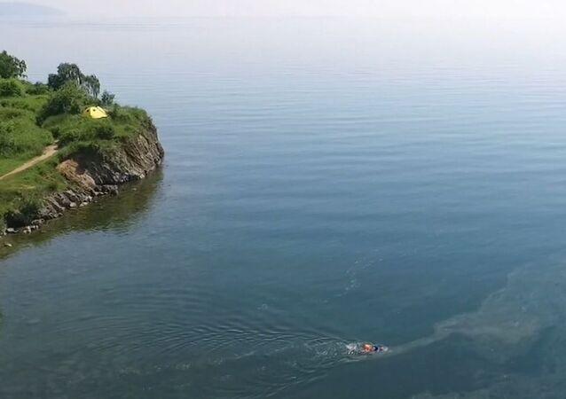 800 km wpław po Bajkale