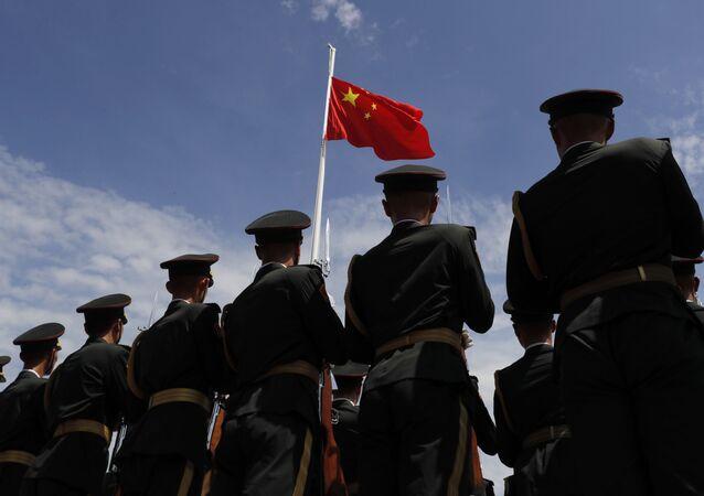 Żołnierze Chińskiej Armii Ludowo-Wyzwoleńczej