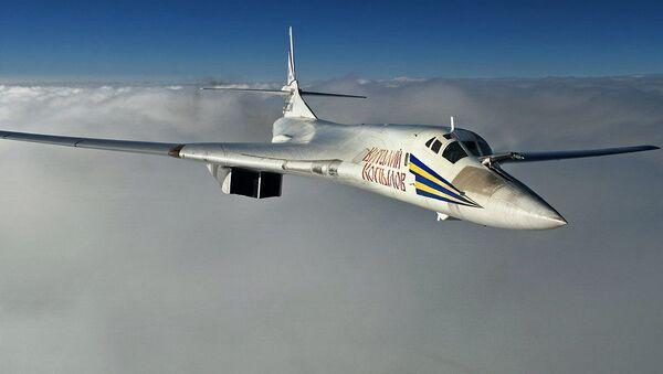 Strategiczny bombowiec Tu-160 - Sputnik Polska