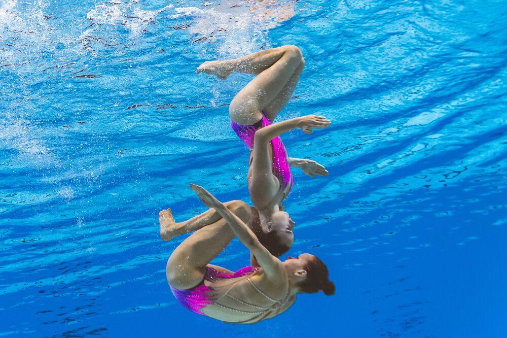 Reprezentacja Szwajcarii na pływackich mistrzostwach świata w południowokoreańskim Gwangju