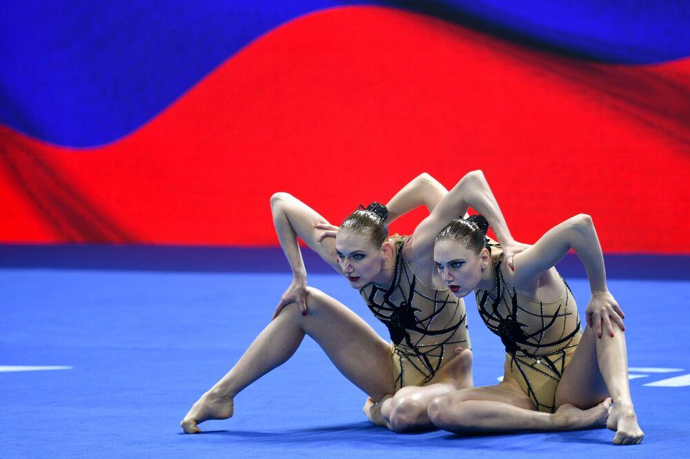 Reprezentacja Rosji na pływackich mistrzostwach świata w południowokoreańskim Gwangju