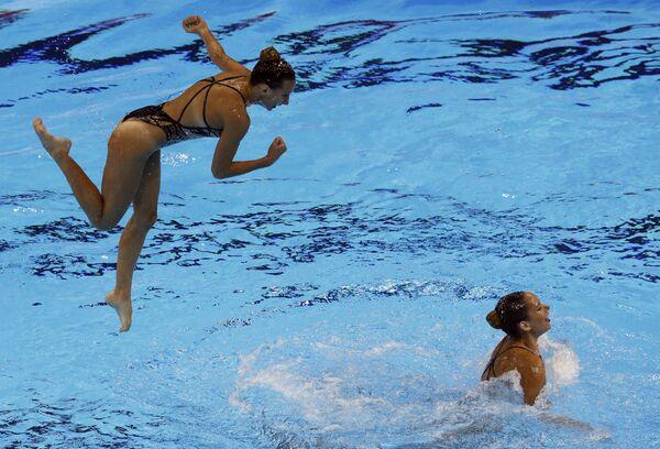 Reprezentacja Węgier na pływackich mistrzostwach świata w południowokoreańskim Gwangju - Sputnik Polska