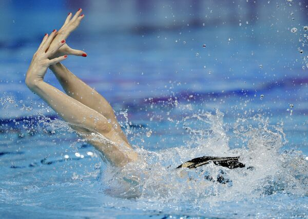 Pływackie mistrzostwa świata w południowokoreańskim Gwangju - Sputnik Polska