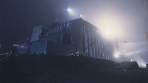 IV blok energetyczny w Czarnobylu, 1986 rok - Sputnik Polska