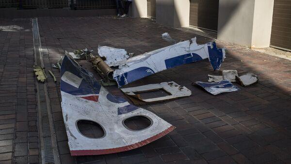 Przekazanie odłamków MH17 - Sputnik Polska