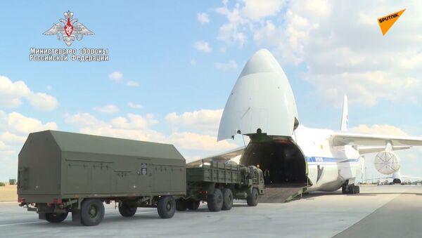Dostawa komponentów S-400 do Turcji  - Sputnik Polska