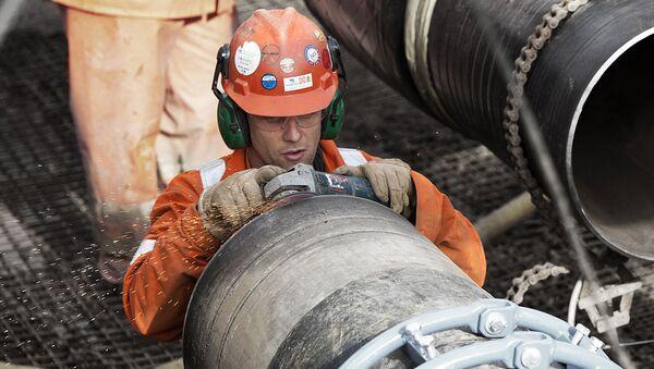 Budowa gazociągu Baltic Pipe - Sputnik Polska
