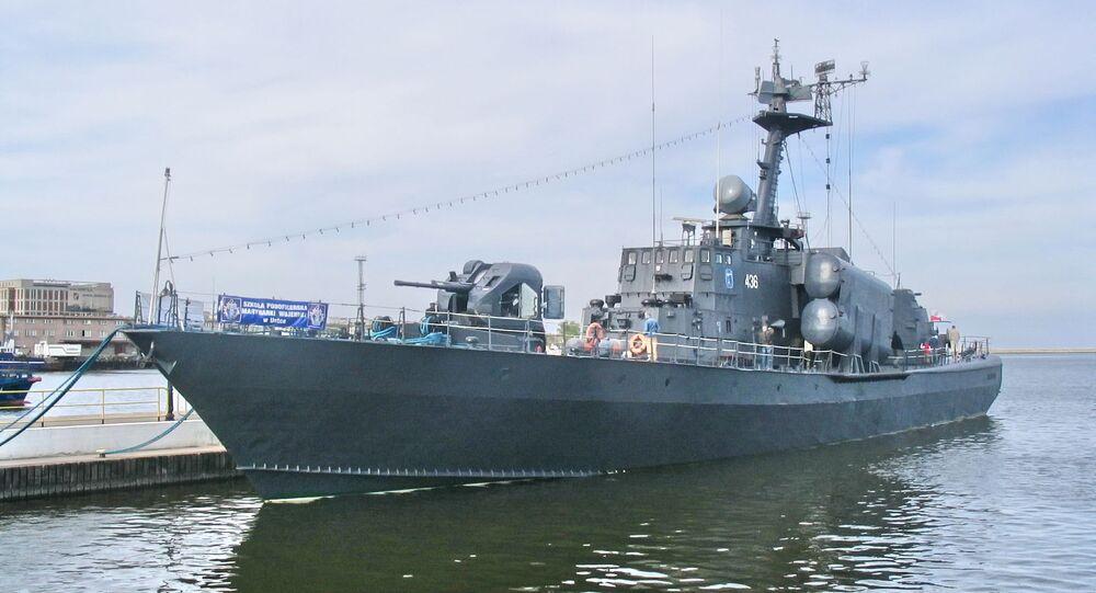Okręt rakietowy ORP Metalowiec