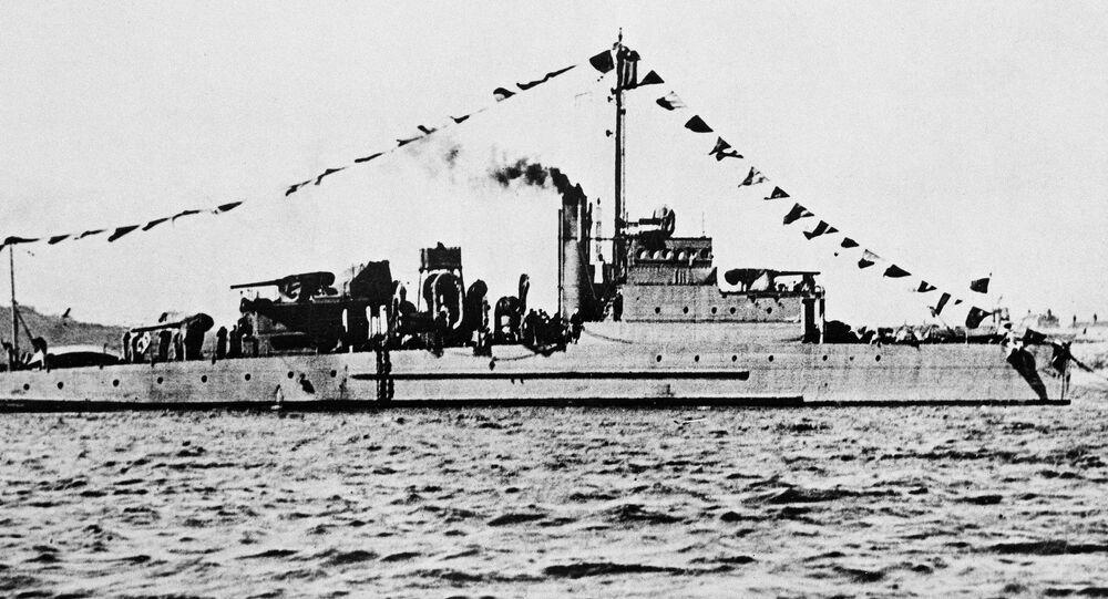 Amerykański okręt USS Eagle PE-56