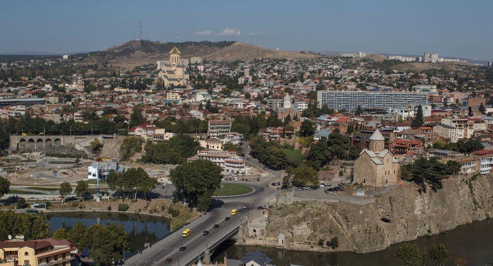 Widok na Tbilisi