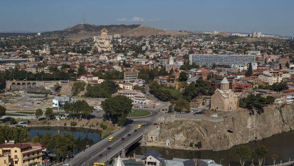 Widok na Tbilisi - Sputnik Polska