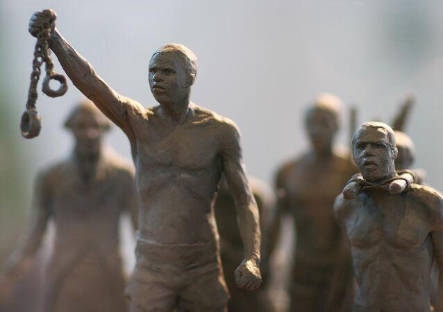 Pomnik ku czci afrykańskich niewolników