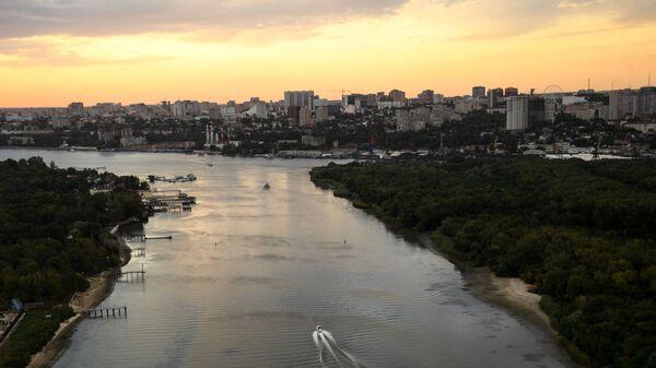 Rzeka Don w rejonie Rostowa, Rosja - Sputnik Polska