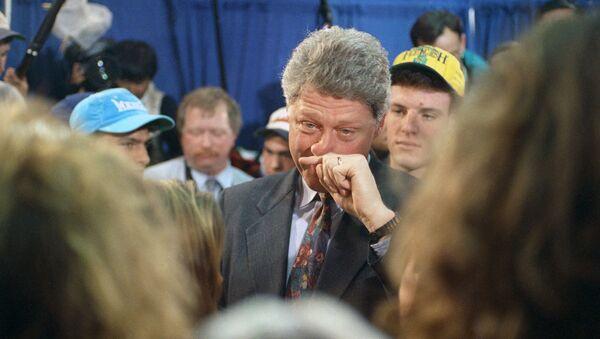 42. prezydent Stanów Zjednoczonych Bill Clinton. Zdjęcie archiwalne - Sputnik Polska