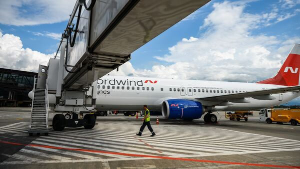 Samolot Boeing 737 linii lotniczych Nordwind Airlines - Sputnik Polska