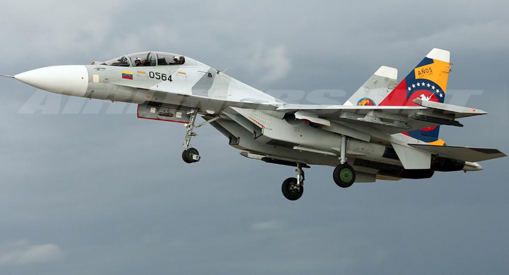 Su-30МК2V sił Wenezueli