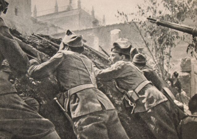Wojna domowa w Hiszpanii