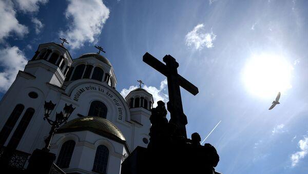 Cerkiew w Jekaterynburgu - Sputnik Polska