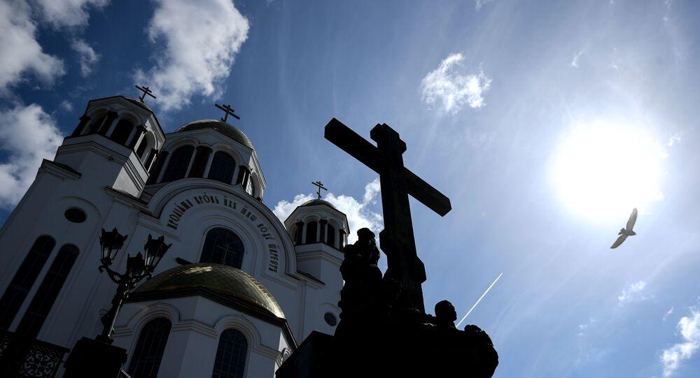 Cerkiew w Jekaterynburgu.