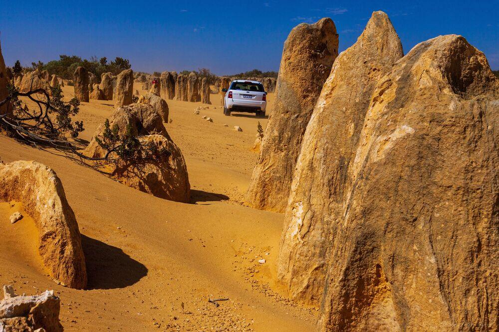 Pustynia Pinnacles Desert w Australii Zachodniej