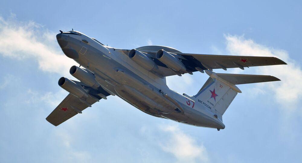 Samolot wczesnego ostrzegania A-50