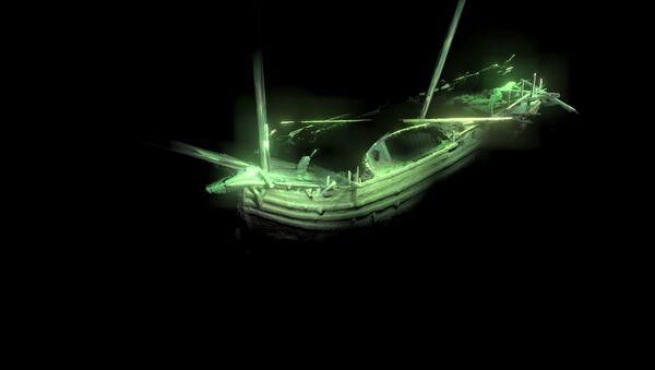 Statek z epoki Da Vinci i Kolumba, znaleziony przez archeologów na dnie Morza Bałtyckiego - Sputnik Polska