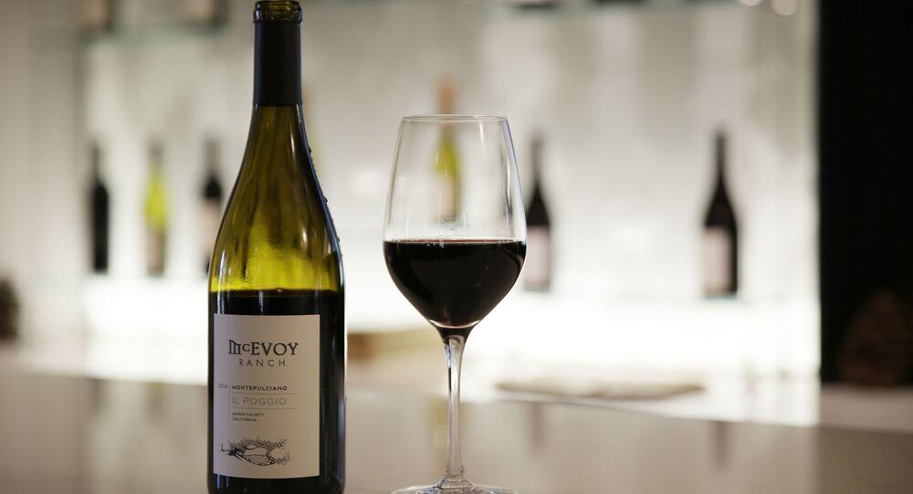Wino wyprodukowane w Kalifornii