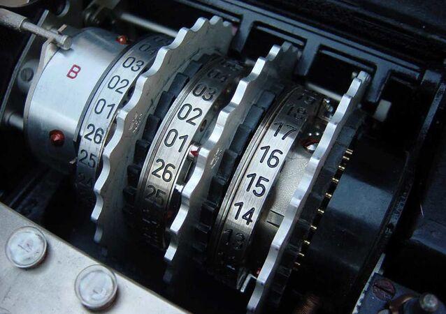 """Niemiecka maszyna szyfrująca """"Enigma"""