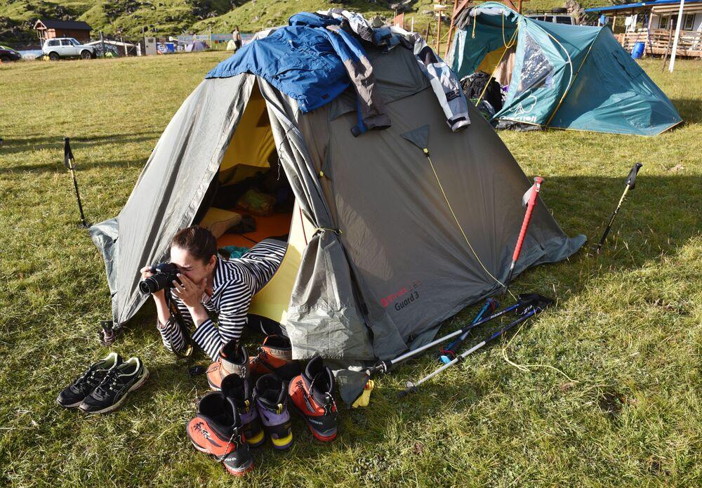Namioty alpinistów