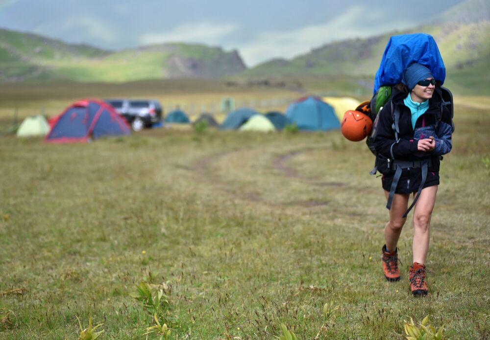 Pole namiotowe alpinistów