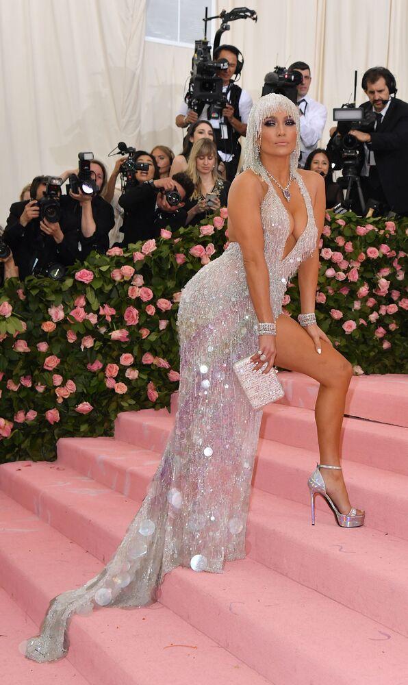 Jennifer Lopez przed koncertem w Nowym Jorku, 2019 rok