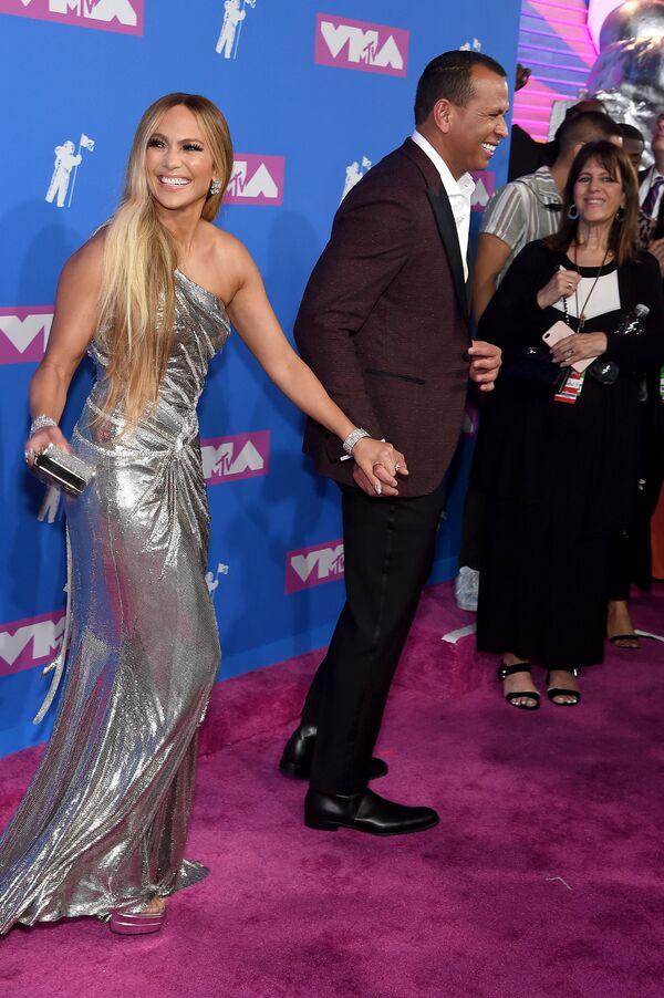 Jennifer Lopez i Alex Rodriguez w Nowym Jorku   - Sputnik Polska