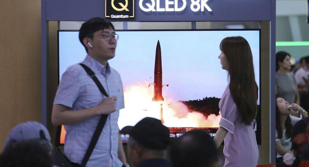 Próby rakietowe w KRLD