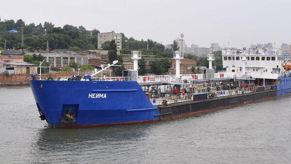 Tankowiec NEYMA - Sputnik Polska
