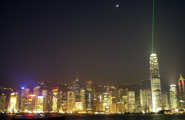 Drapacze chmur w Hongkongu - Sputnik Polska