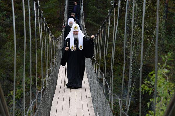 Wizyta patriarchy Cyryla I do Ałtaju - Sputnik Polska