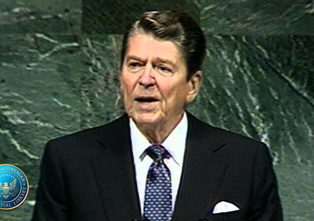 Ronald Reagan na 42. Zgromadzeniu Ogólnym ONZ