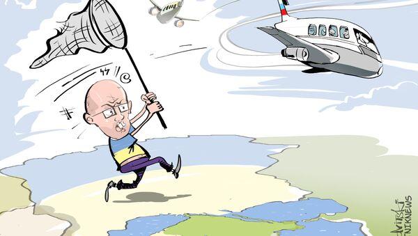 Nie wolno latać na Ukrainę! - Sputnik Polska