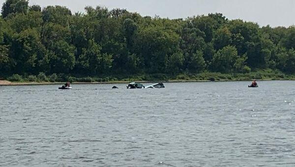 Samolot spadł do wody - Sputnik Polska