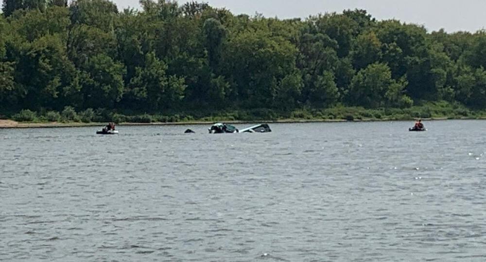 Samolot spadł do wody