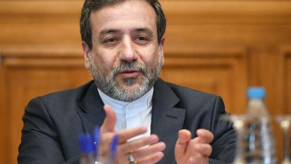 Irański wiceminister spraw zagranicznych Abbas Arakchi - Sputnik Polska