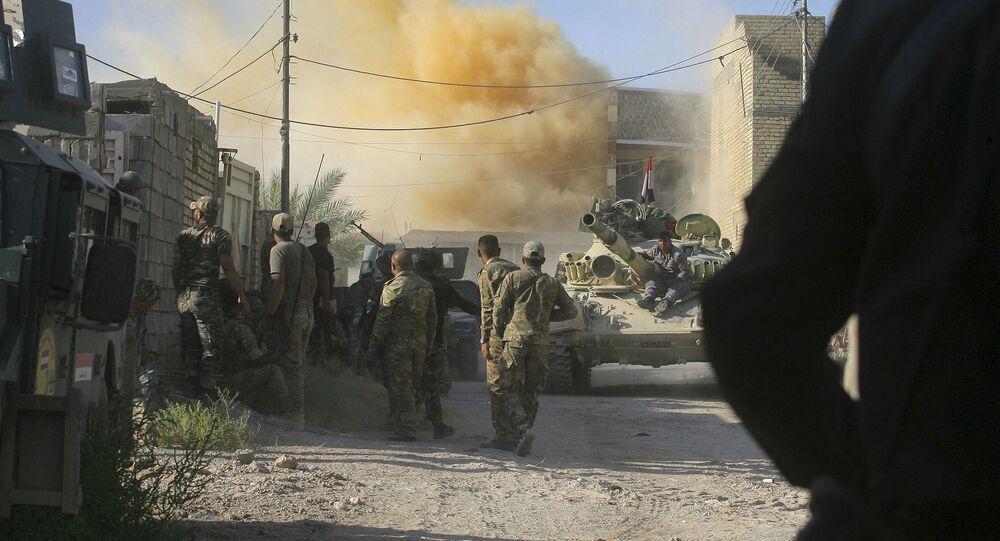 Nalot sił koalicji amerykańskiej w Iraku