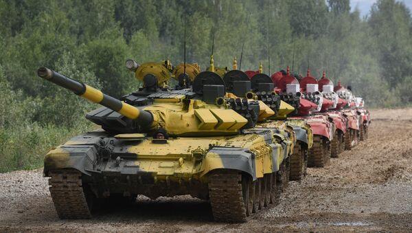 Czołgi Т-72B3 - Sputnik Polska