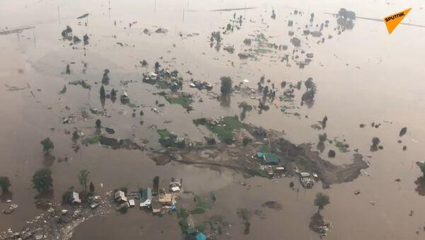 Skutki powodzi w Rosji - Sputnik Polska