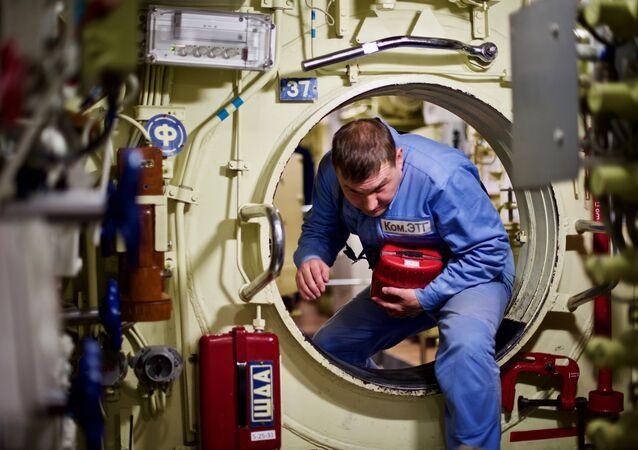 """Marynarz okrętu podwodnego """"Noworosyjsk"""""""