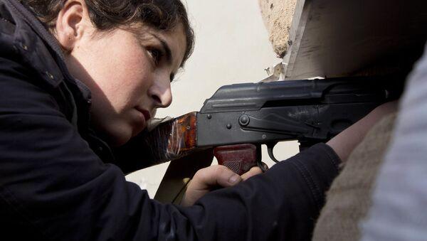 Syryjska kobieta - Sputnik Polska